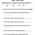 Map Dancing- Cardinal Directions