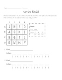 Map Grid Boggle