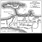 Map / Plan of Ancient Alexandria