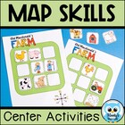 Map Skills Centers & Interactive Posters