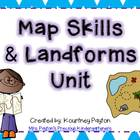 Map Skills &amp; Landforms Mini-Unit