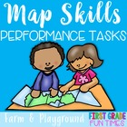 Map Skills Performance Tasks - Create a Map