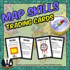 Map Skills Vocab Cards