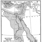 Map of the Egyptian Empire