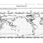 Mapping the Ring of Fire Worksheet