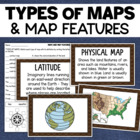 Maps &amp; Map Features Reference Cards/Posters