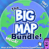 Maps of the World - MEGA-BUNDLE