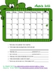 March 2012 Calendar Activity Freebie