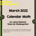 March 2014 Calendar for the Promethean Board (ActivBoard)