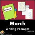March 4th Grade Common Core Writing Prompts