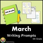 March 5th Grade Common Core Writing Prompts