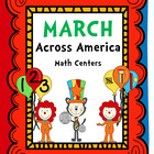 March Across America....Math Centers