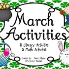 March Activites- St. Patrick&#039;s Day, Easter, Basketball