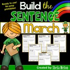 March Build the Sentence {20 print and go printables}