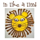 March Craftivity!  In like a lion!