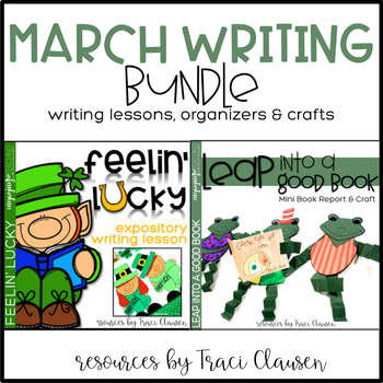 March Holiday Writing Mini-Lessons and Craftivities