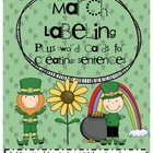 March Labeling Pictures and Word Cards