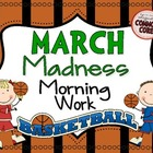 March Madness Morning Work