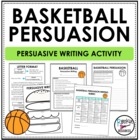 March Madness Persuasive Writing