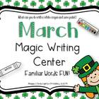 March Magic Writing Activity