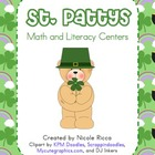 March Math &amp; Literacy Centers