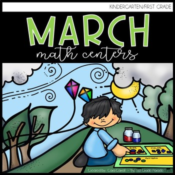 March Mathtivities {14 Math Tub Activities for March}