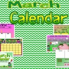 March Promeathean Board Calendar