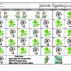 March Reading Log 2013