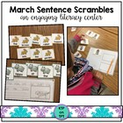 March Sentence Scrambles