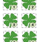 March Shamrock Calendar Cards