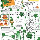 March Shamrock Common Core Literacy &amp; Math Activities Unit
