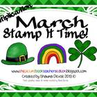 March Stamp It Time! - Multiplication