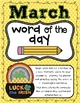 March Word of the Day
