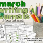 March Writing Center or Writing Prompts