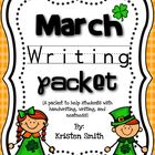 March Writing- helping students with handwriting and writi