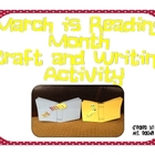 March is Reading Month Craft and Mini Book Report Writing