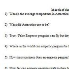 March of the Penguins Video Handout and Answer Key