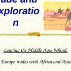 Marco Polo and others trade and explore in Europe, Songhai