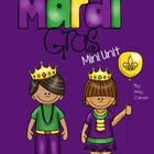 Mardi Gras Mini Unit: Print and Go
