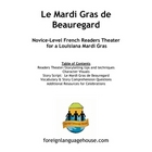 Mardi Gras Readers Theater Story for French Learners
