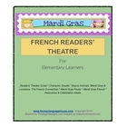 Mardi Gras Readers Theater for Elementary Students