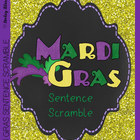 Mardi Gras Sentence Arrangement