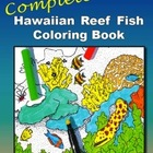 Marine Biology Coloring Textbook and Teacher Resource