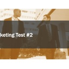 Marketing Test #2