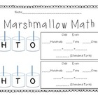 Marshmallow Math - Practicing Hundreds, Tens, and Ones