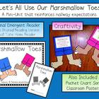 Marshmallow Toes Emergent Reader &amp; Craftivity Pack