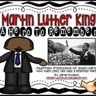 Martin Luther King: A Presentation About His Life: Mini Qu