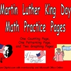 Martin Luther King Day Math Activities for Kindergarten