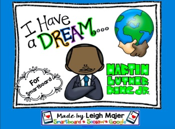 Martin Luther King I Have A Dream Smartboard