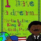 Martin Luther King I Have a Dream Activity Pack